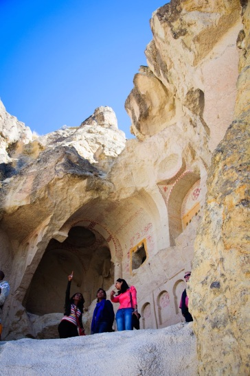 Inside Goreme Open Air Theater