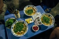 Fish noodle soup