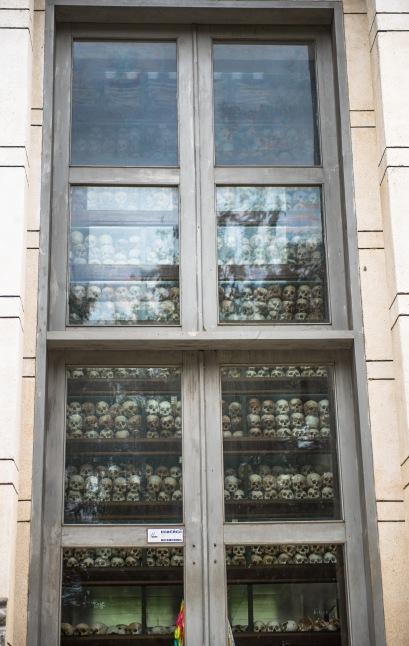 Stack of skulls